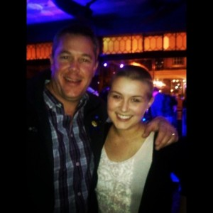 Kendall & Uncle David at the Dance!