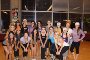 Kendall & The Suns dancers